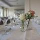 Hochzeit Vintage Look Apricot im Restaurant Strohbecks Voggnhof